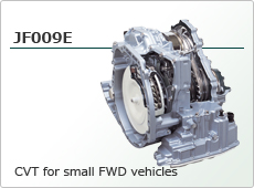 CVT for small FWD vehicles JF009E