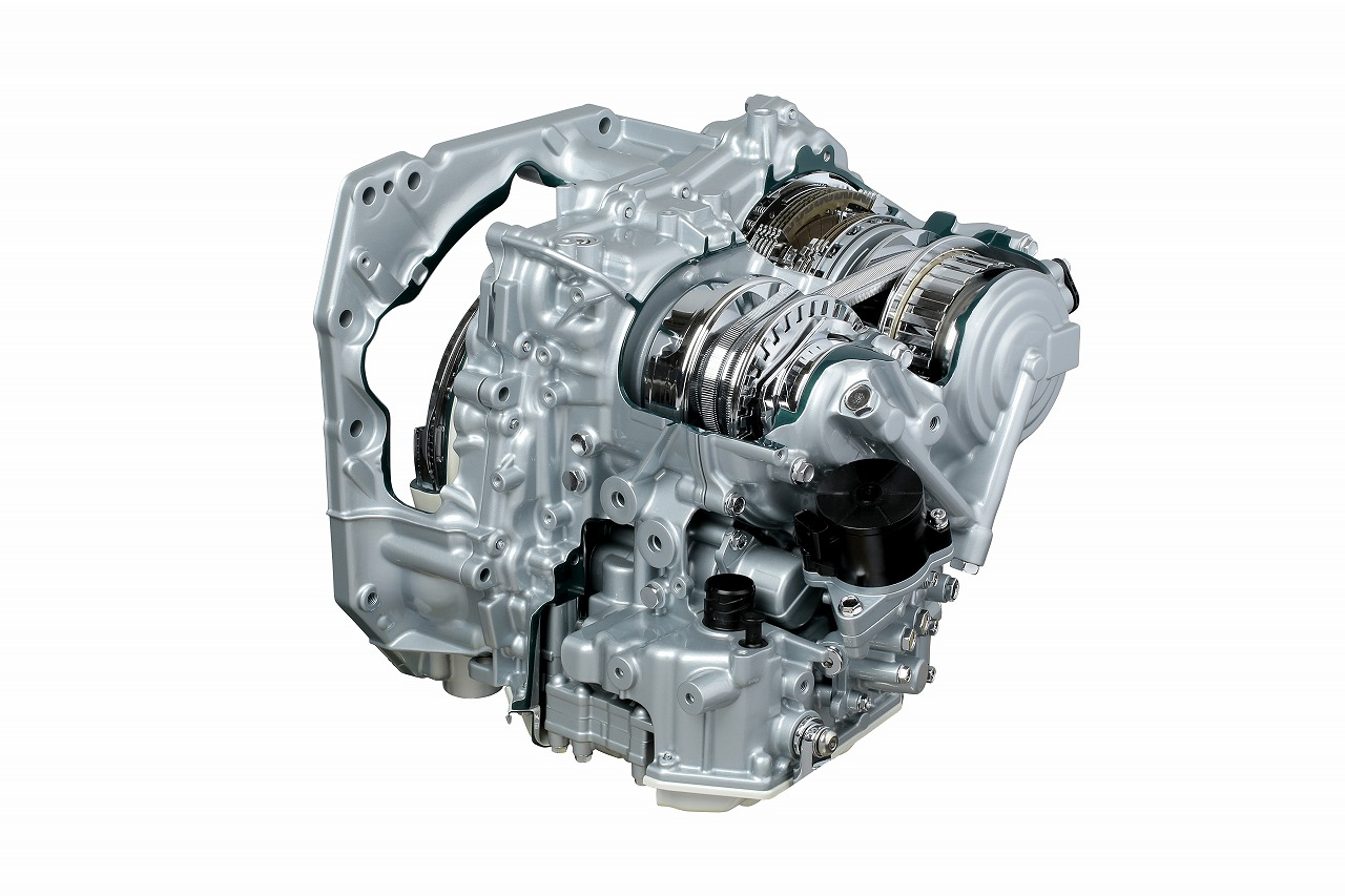 Jatco cvt8 - Jatco JR712E HYBRID transmission for RWD hybrid