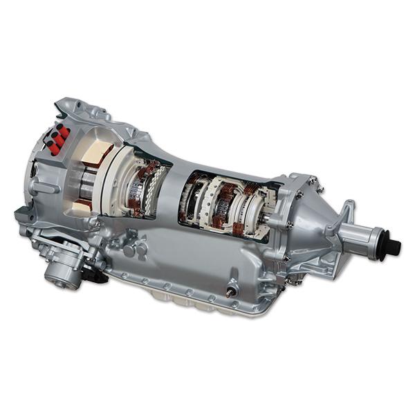 ハイブリッドFR車用トランスミッション JR71... ハイブリッドFR車用トランスミッション